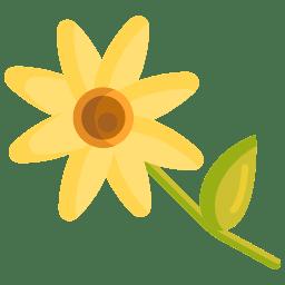 Icono de Planta con Flor