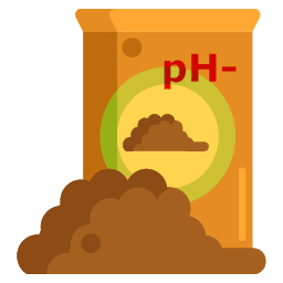 Icono Tierra ácida o acidófila